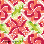 tulip tile sample pattern