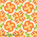 tulip tile sample pattern 03